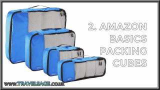 Top 5 Best Travel Packing Cubes Reviewed