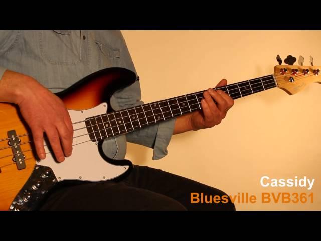 Musicradar Bass Expo 2014 : Cassidy Bluesville Series BVB361