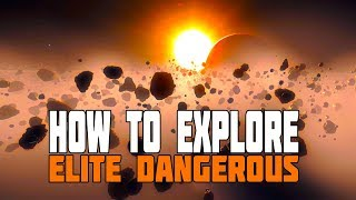 Elite Dangerous - How to Explore (Long Distance Travel, Rare Moons and Nebula)