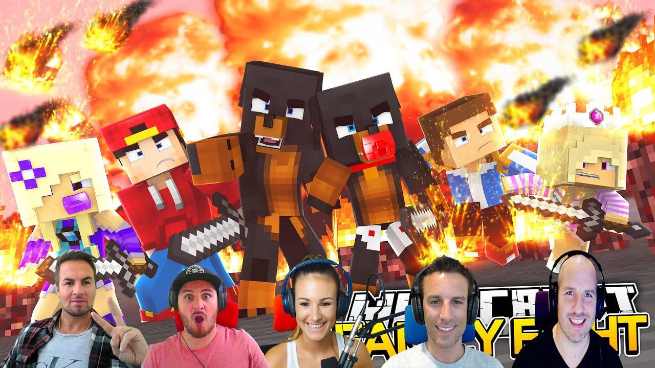 Minecraft FACECAM WARS WTHE LITTLE CLUB Donut The Dog