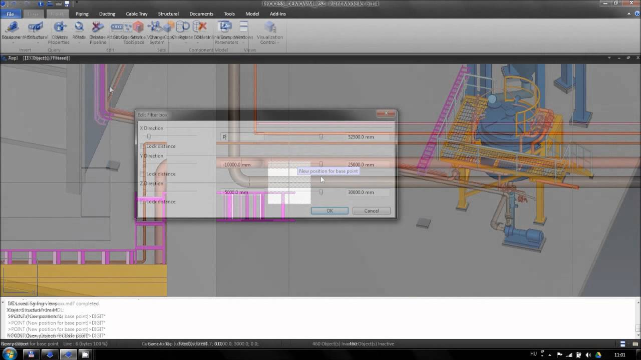 Cadmatic Plant Design Software - part 4