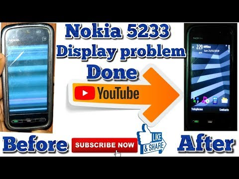 Nokia 5233/5800 XpressMusic Disassembly & Assembly - Screen and Case Replacement