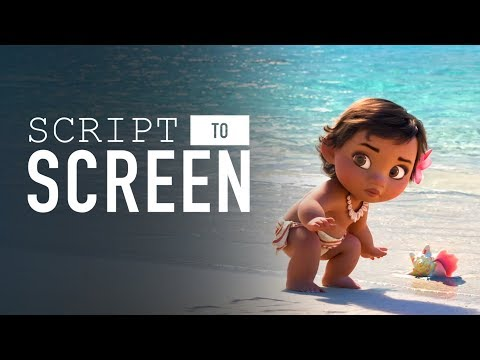 baby-moana-meets-the-ocean-|-script-to-screen-by-disney