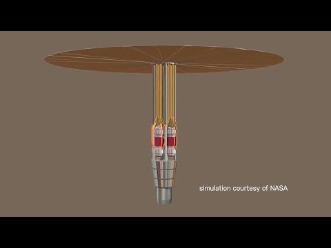 Los Alamos Lab - Kilopower Nuclear Deployable Reactors For Mars [720p]