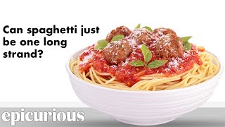 Cooking Experts Answer Your Spaghetti & Meatball Questions | Epicurious