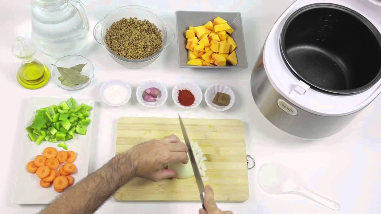 Robot de cocina chef titanium lentejas estofadas youtube for Robot de cocina chef titanium