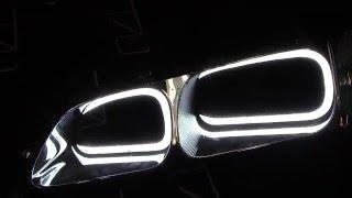 TTSL Angel Eyes Honda Accord 6 Ангельские глазки Хонда Аккорд Дневные Ходовые Огни TAU tech