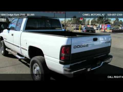 1998 Dodge Ram 2500 2500 4x4 For Sale In Tucson Az