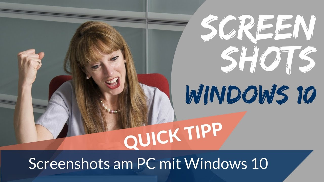 screenshots am pc mit windows 10 erstellen youtube. Black Bedroom Furniture Sets. Home Design Ideas