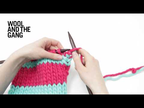How To Knit Es