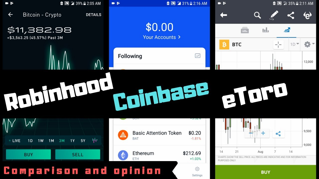 how to transfer bitcoin from coinbase to robinhood