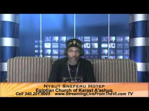 Nysut Sneferu Hotep | Youth & Prison Ministry | Egiptian Church of Karat A'ashug  3.31.16