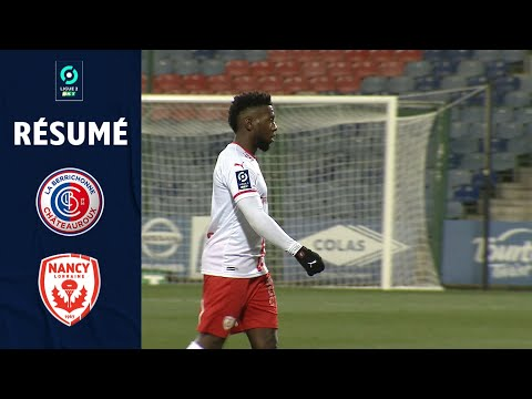 Chateauroux Nancy Goals And Highlights