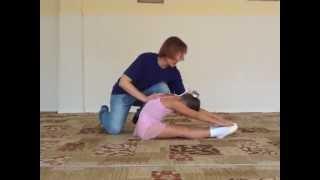Подготовка к растяжке ног