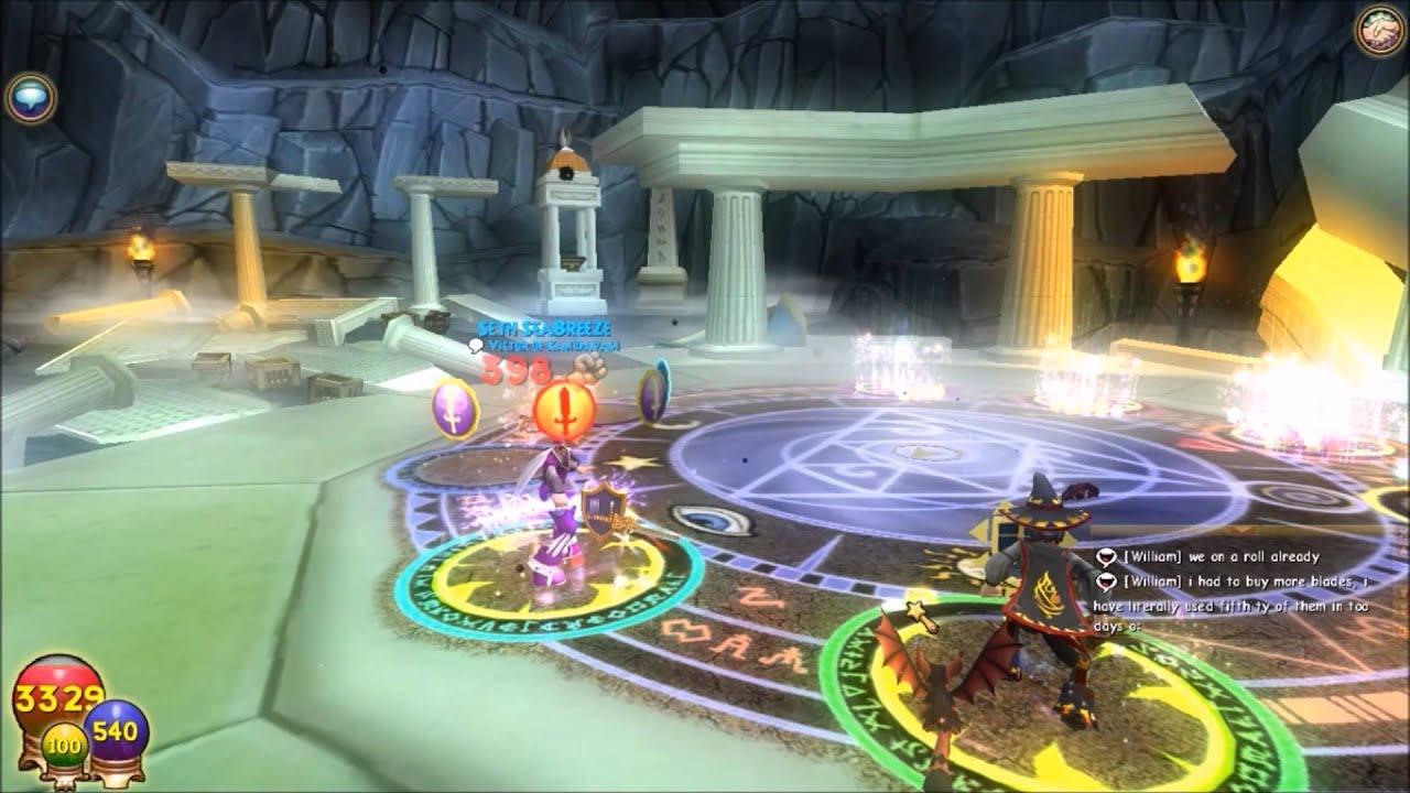 Wizard101: Farming Cronus with friends