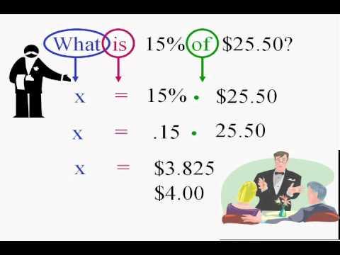 PreAlgebra and Solving Percent Equations