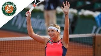 Kristina Mladenovic v Timea Bacsinszky Highlights - Women's Quarterfinals 2017 | Roland-Garros