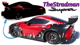 Re-designing TheStradmans wide-body Supra!