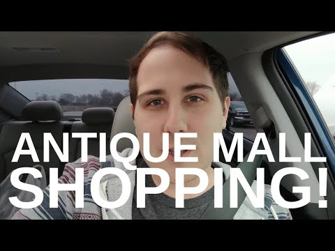 Antique Mall Vlog! Shopping Trip with Barb!