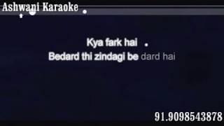Agar Tum Saath Ho Karaoke male voice