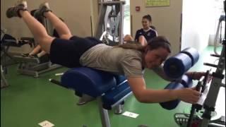 Силовая тренировка ЖК
