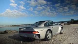 Porsche 959 - история легендарной машины.