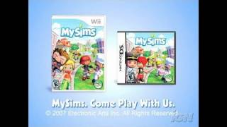 MySims Nintendo Wii Trailer - Forests and Beaches