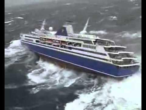 bateau tempete