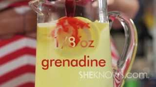 Make A Sexy Lemonade Punch