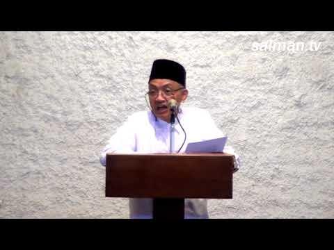 Khutbah Jumat : Prof.Ir.H.Hermawan K.D. P.h.D