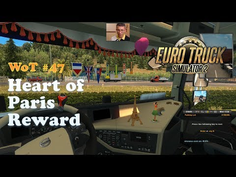 [ETS2] Heart of Paris + 3 Random Pennants / Trade Connections France Event Completed