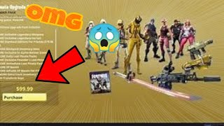 I open the ultimate pack of the nocturno fortnite save the world