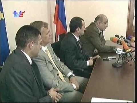 Civil society forum press conference EM Armenia TV5