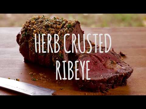 Herb Crusted Australia Ribeye Recipe