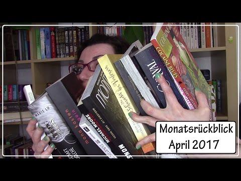 Monatsrückblick April 2017 || 16 gelesene Bücher!!!