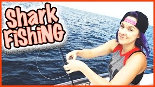 🐟 WE SPOT A SHARK WHILE DEEP SEA FISHING🐟 AND WE HAVE TO SAY GOODBYE!! SMELLY BELLY TV VLOG(The adults go deep sea fishing, and we catch some awesome fish to take home to cook up!! We spot several sharks, and one of them even bites Jesse's line and ..., 2016-05-03T10:00:02.000Z)