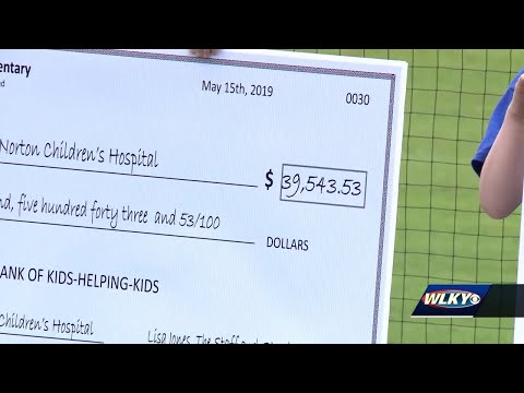 Southern Indiana elementary school raises half-a-million dollars for Norton Children's Hospital