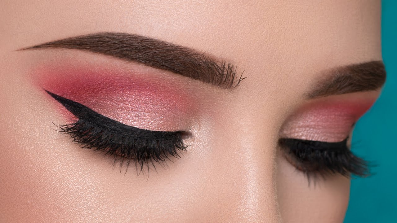 Easy pink summertime makeup tutorial youtube baditri Image collections