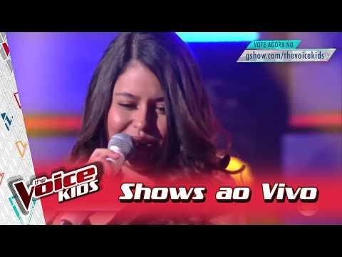 Eduarda Brasil canta 'Isso Aqui Tá...' nos Shows ao Vivo – 'The Voice Kids Brasil' | 3ª Temporada