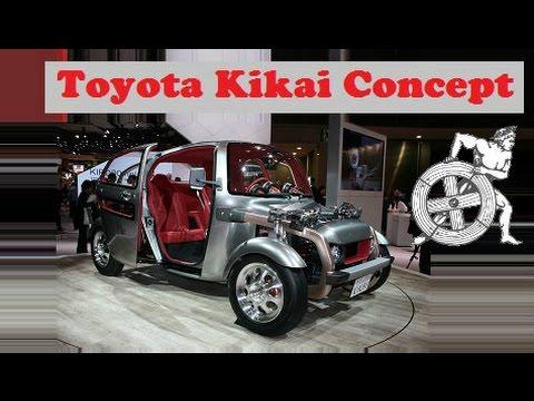 toyota kikai concept live at 2015 tokyo motor show youtube. Black Bedroom Furniture Sets. Home Design Ideas