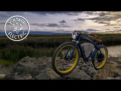 vintage electric bikes egarage youtube. Black Bedroom Furniture Sets. Home Design Ideas