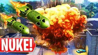 *NUEVO * LANZAMIENTO DE MISILES NUCLEAR! ¡Advertencia de evento Fortnite Secret Nuke!