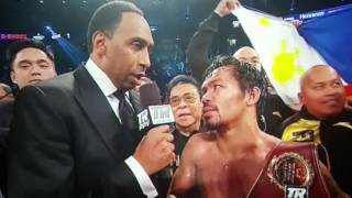Manny Pacquiao vs Jessie Vargas Full Fight Post Review!!