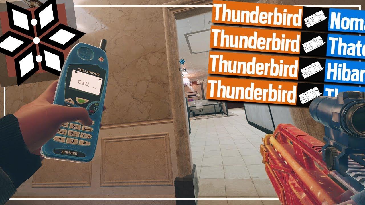 Thunderbird Is A Trap Operator Now - Rainbow Six Siege