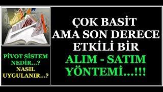 DOLAR & PİYASALAR İÇİN BASİT BİR  ALIM - SATIM STRATEJİSİ