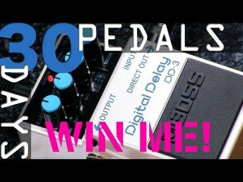Boss DD-3 Digital Delay Bitesize Review - 30 Days, 30 Pedals - WIN!