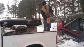 Best Way To Cut Firewood
