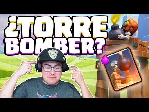 TORRE BOMBARDERA EN LADDER. ESTOY COMO UNA REGADERA | Clash Royale