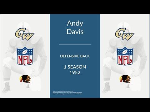 Andy Davis: Football Defensive Back