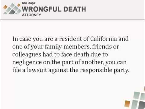 San Diego Wrongful Death Attorney - Tips on Filing Your Malpractice Case
